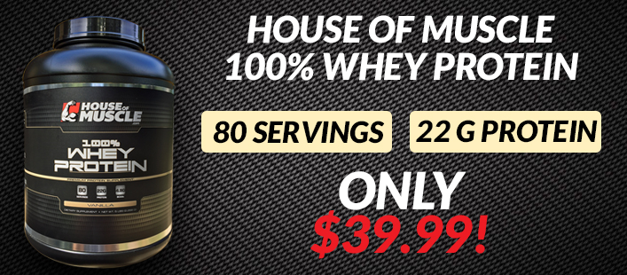 Got Whey? Special $39.99 For 5lb tub Whey Protein