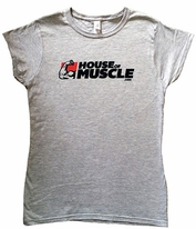 House Of Muscle Women's Cut T-Shirt - Athletic Fit For Women