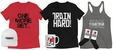New House Of Muscle Clothing, Apparel & Merchandise Items