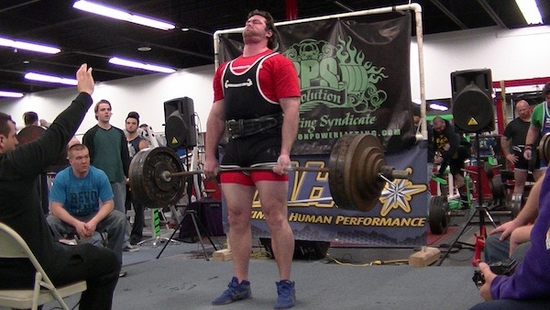 Nick's First Powerlifting Contest