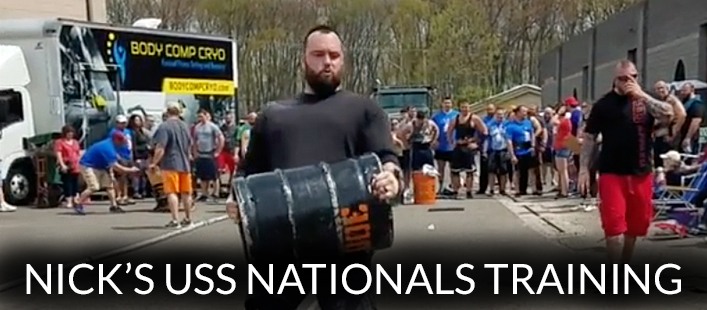Nick's USS Nationals Training #2