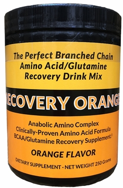 Recovery Orange - BCAAs & Glutamine Recovery Supplement