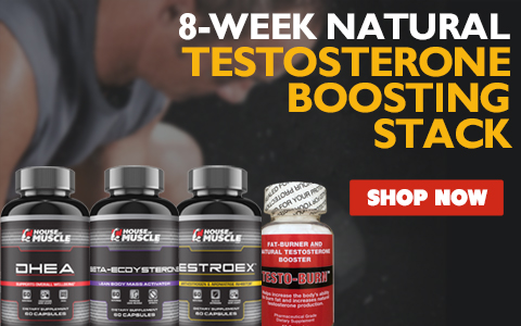 8-Week Natural Testosterone Boosting Stack