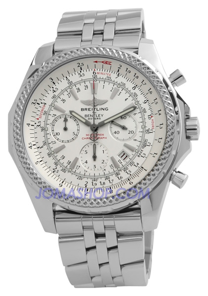 breitling stainless steel back chronographe 100m b13048. Black Bedroom Furniture Sets. Home Design Ideas
