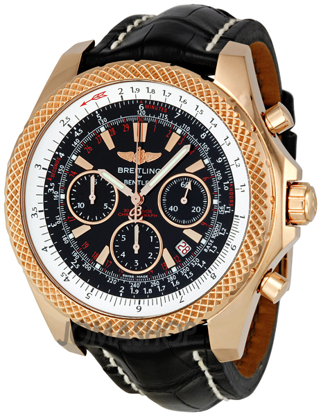 Breitling Bentley Motors Speed 18kt Rose Gold Men 39 S Watch
