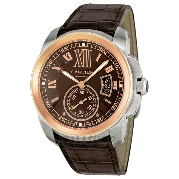Brown Cartier Men S Wrist Watches