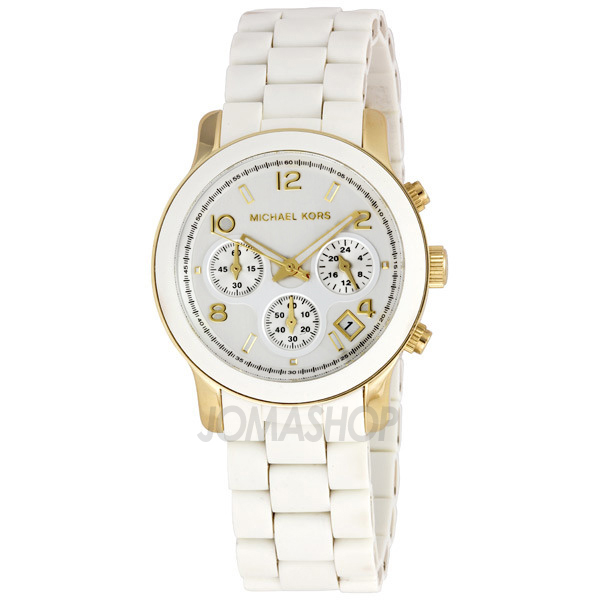 White Watch For Ladies