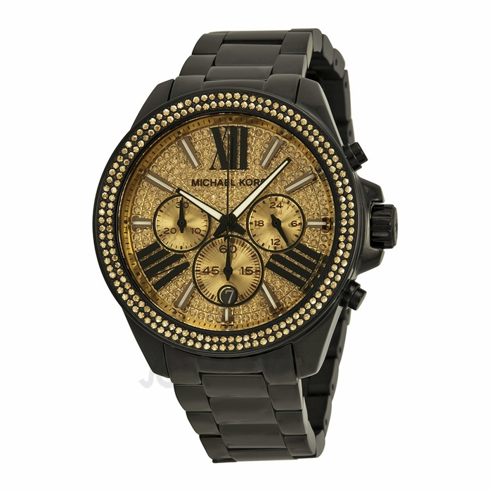 Ladies Black Watches