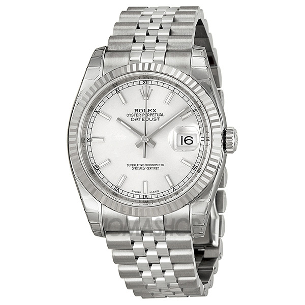 Rolex Silver And Gold Mens New