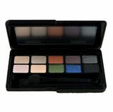 EYE SHADOW UNIVERSE Redheads 10 Well Compact