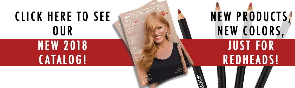 Finally, beauty products designed just for redheads, by a redhead!