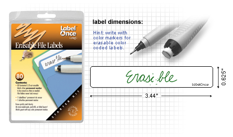 File Folder Labels Starter Kit-80