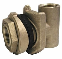 "Bronze Pitless Adapter 5000 lbs Maximum Load 1-1/4"" # PT725NL (D)<br>"