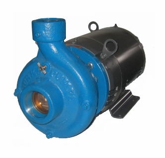 Burks End Suction Centrifugal Pump 200 GPM 10 HP Three Phase