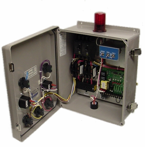 Duplex Waterproof Control Panels For Wastewater Pumps on