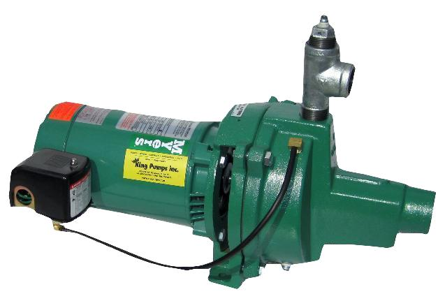 Myers pumps shallow well jet pump 28 gpm 1 hp hj100s b for 1 20 hp electric motor