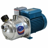 Pearl by Calpeda Stainless Steel Shallow Well Jet Pump <br>22 GPM 1 HP 115/230 V. # JSC 10F16S (C)
