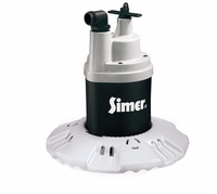 Simer Pool Cover Pump 1/4 HP, 115V. 1 PH. # 2115 (D)