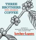 1 Lb Three Brothers Kitchen Kapers House Blend Coffee Beans