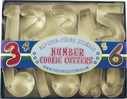 11 Piece Number Cookie Cutter Set