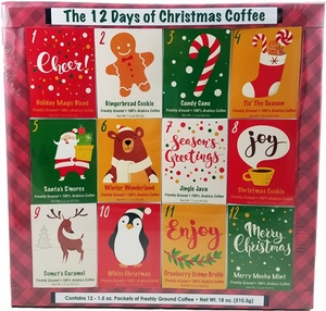 12 Days of Christmas Coffees - Click to enlarge