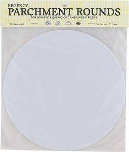"9"" Parchment Rounds - Click to enlarge"