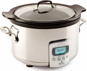 All Clad 4 Quart Electric Slow Cooker - Click to enlarge