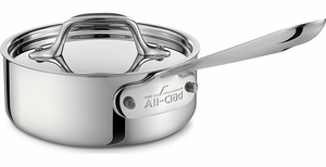 All Clad Stainless Steel Sauce Pan - Click to enlarge