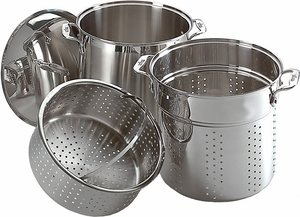 All Clad Stainless Steel 12 Quart Multi Cooker - Click to enlarge