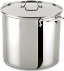 All Clad Stainless Steel 16 Quart Stockpot with Lid