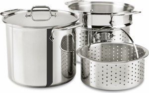 all clad stainless steel 8 quart multicooker click to enlarge