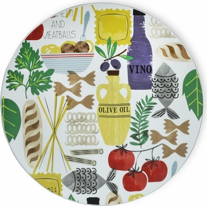 "Antipasto Platter 16"" - Click to enlarge"
