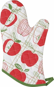 Apple Check Oven Mitt - Click to enlarge