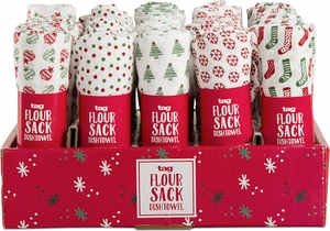 Assorted Holiday Flour Sack Towel - Click to enlarge