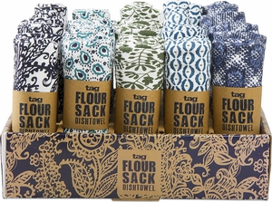 Assorted Paisley Flour Sack Towel  - Click to enlarge