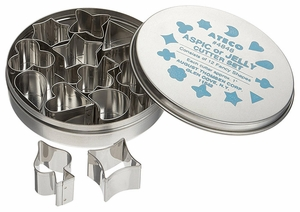 "Ateco Aspic Cutters 1"" - Click to enlarge"