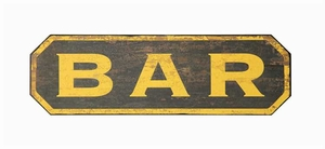 Bar Wall Sign - Click to enlarge