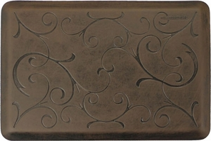 Bella 3' x 2' Antique Wellness Mat - Click to enlarge