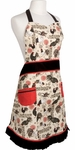 Rustic Roosters Betty Apron
