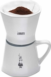 Bialetti 12 oz Porcelain Pour Over Coffeemaker and Mug
