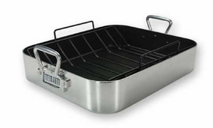 Bialetti Extra Large Aluminum Nonstick Roaster - Click to enlarge