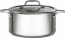 Bialetti Triply Stainless Steel 5.5 Quart Dutch Oven with Lid