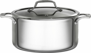 Bialetti Triply Stainless Steel 5.5 Quart Dutch Oven with Lid - Click to enlarge