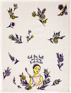 Blue Q Get Out Kitchen Towel - Click to enlarge