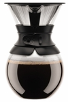 Bodum 34 Ounce Pour Over Coffee Maker - Black
