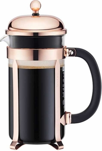 Bodum Copper 8 cup Chambord Coffee Press - Click to enlarge