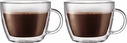 Bodum Set of 2 Bistro 15 ounce Latte Cup