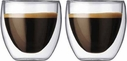 Bodum Set of 2 Pavina Espresso Glasses
