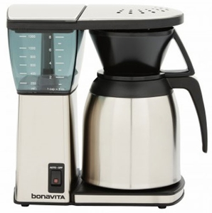 bonavita 8 cup coffeemaker with thermal carafe bv1800ss click to enlarge - Thermal Carafe