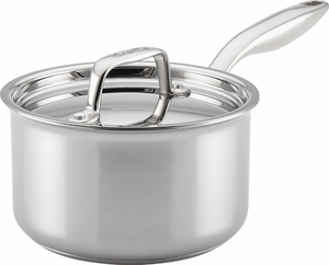 Breville Thermal Pro® Clad Stainless Covered Saucepan - Click to enlarge